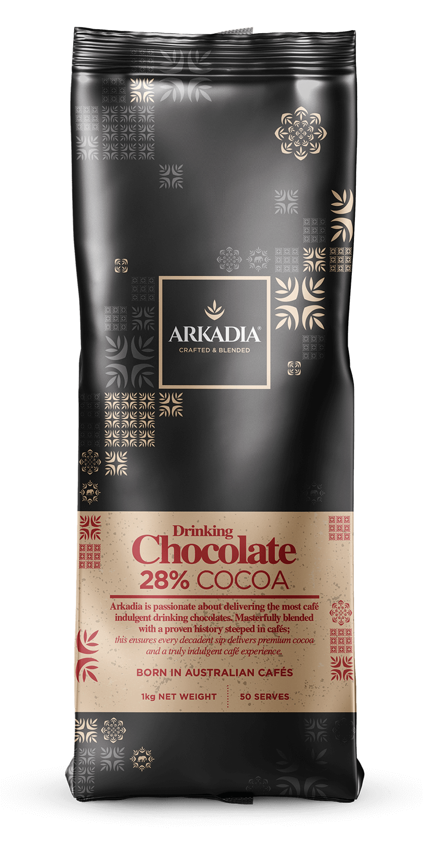 Arkadia Drinking Chocolate 28% Cocoa