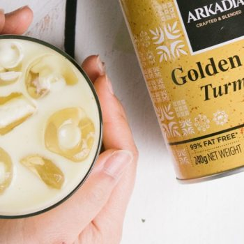 Iced Golden Latte
