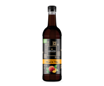 Premium Peach Iced Tea Syrup