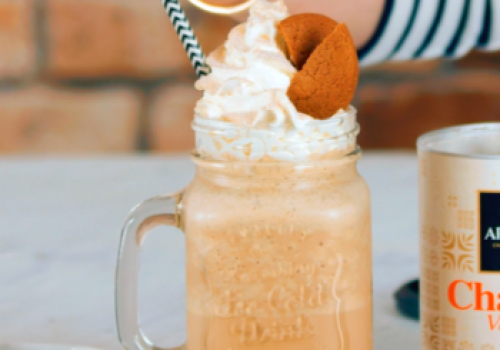 Gingerbread Chai Frappe